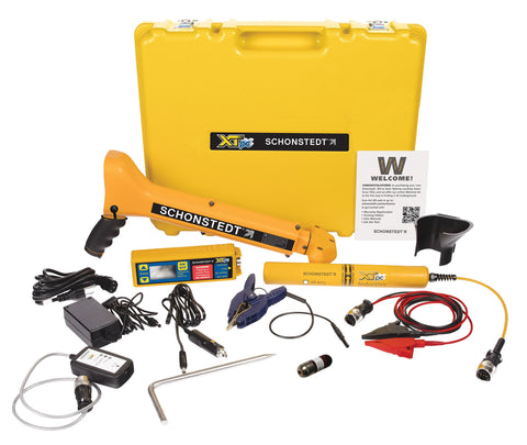 PCS-800-11 Locating System :  XTpc-82 & TM50911 Sonde (max depth range is 10 ft)