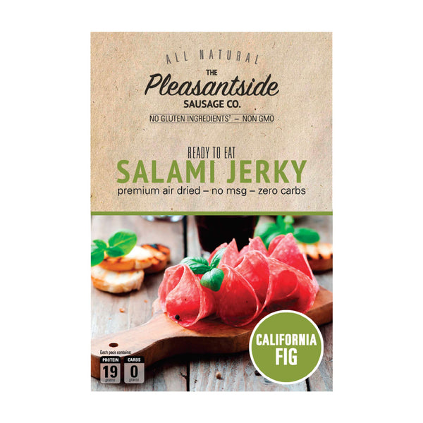 Salami Jerky - California Fig