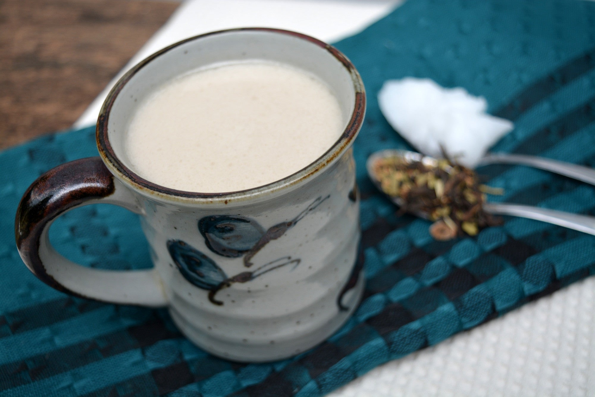Dairy Free Boost Tea Latte