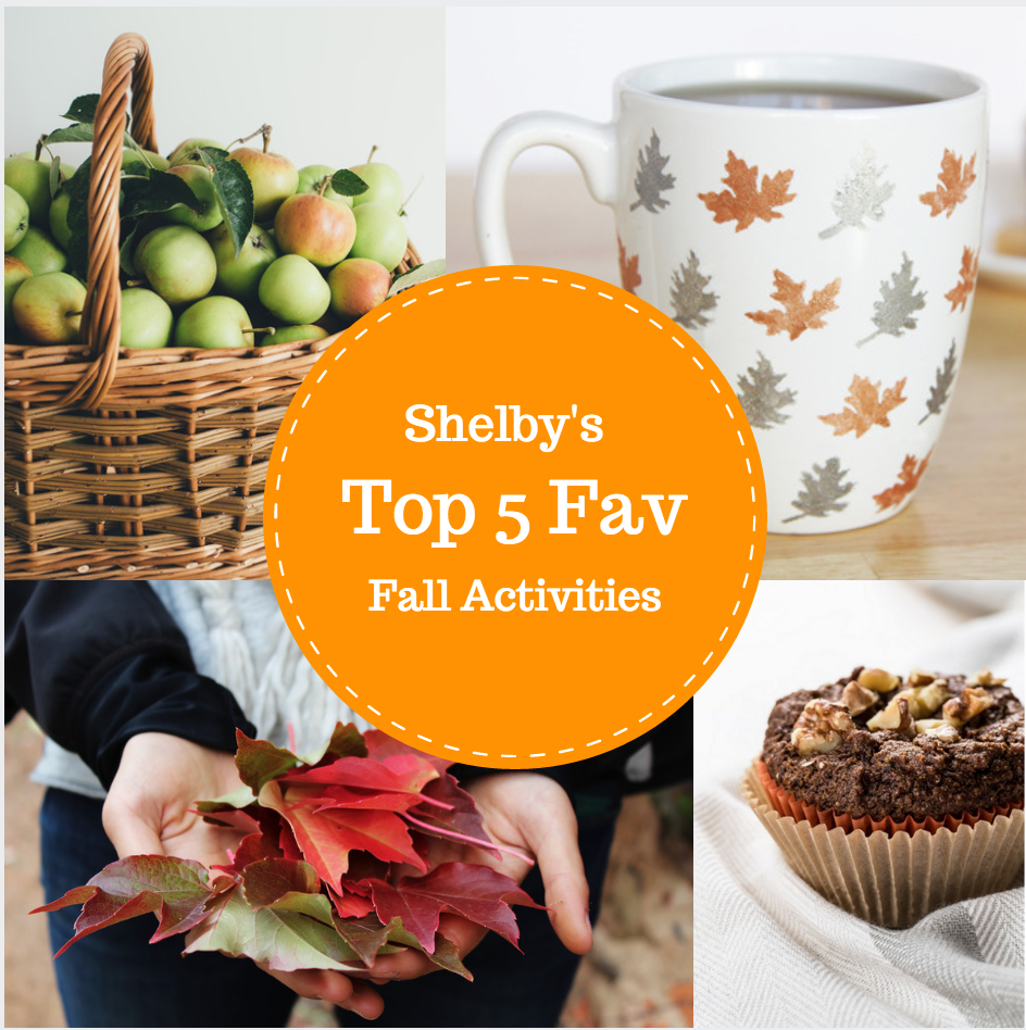 Shelby's Top 5 Fall Favourites!