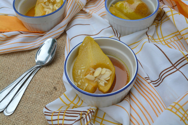 Soothing Oven Stewed Pears