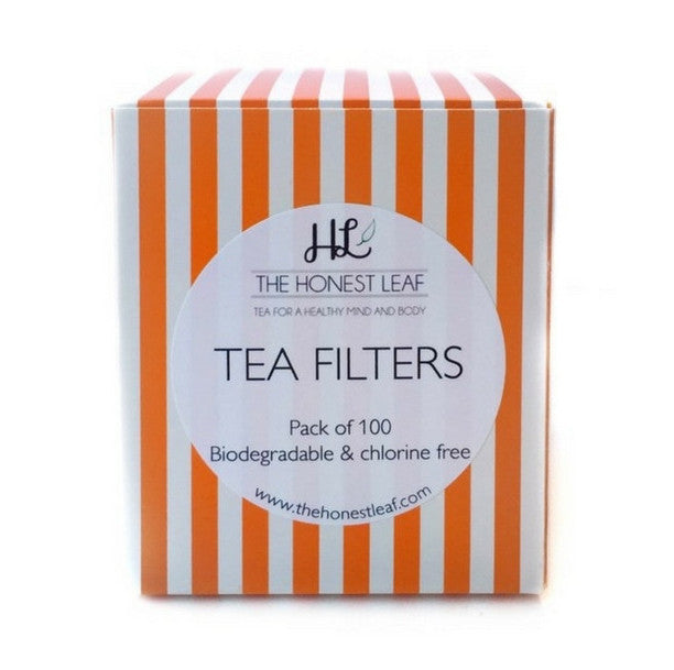 Unbleached tea filter papers