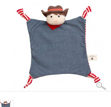Organic Farm Buddies Blankie - Barnyard Billy