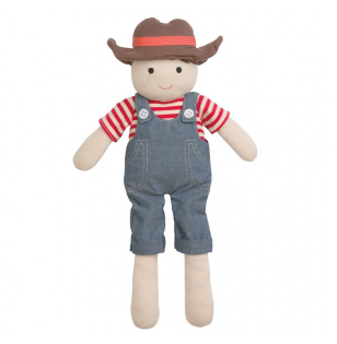 Organic Farm Buddies Plush - Barnyard Billy