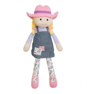 Organic Farm Buddies Plush - Susie Sunshine