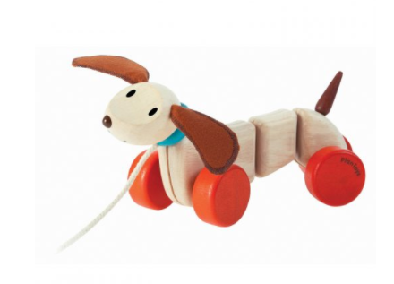 Happy Puppy by Plan Toys