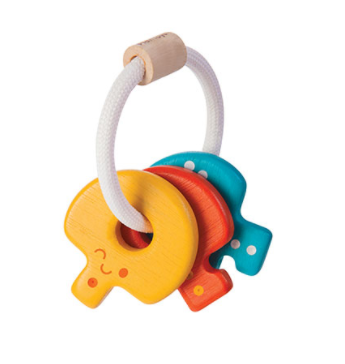 Baby Key Rattle by Plan Toys