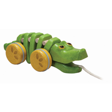 GreenDancing Alligator by Plan Toys
