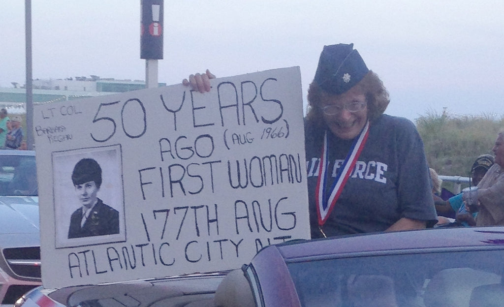 2016 Atlantic City Veterans Parade and 177th Air National Guard's First Female Recruit
