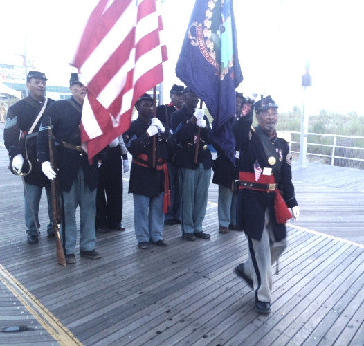 2016 Atlantic City Veterans Parade and 3rd Regiment Civil War Reenactors