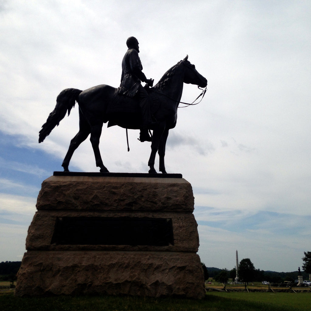 Statue of General George Meade on Gettysburg Battlefield