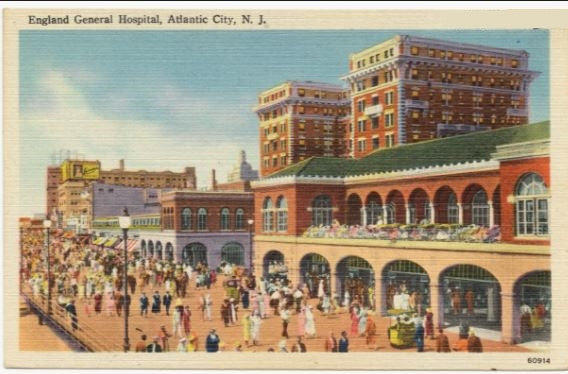 Atlantic City Was a Military Base in 1942 WWII