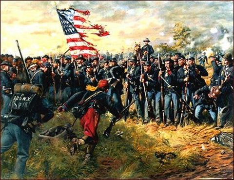 FIRST MINNESOTA Limited Edition Civil War Print by Don Troiani
