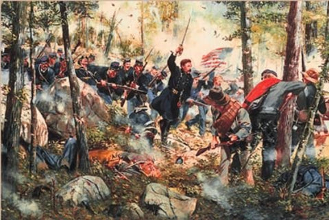 LITTLE ROUND TOP Civil War Limited Edition Print by Don Troiani