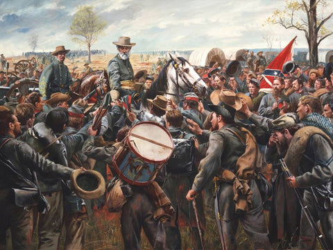 SOLDIERS TRIBUTE Limited Edition Civil War Print by Don Troiani