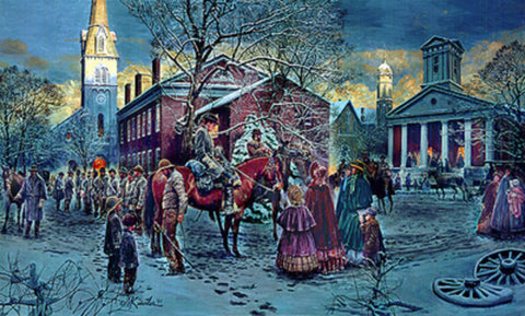 CHANGING OF THE PICKETS Civil War Limited Edition Print by Mort Kunstler
