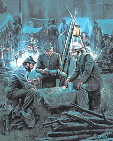LETTER FROM HOME Limited Edition Civil War Print by Mort Kunstler