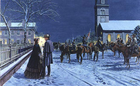 REMEMBER ME Limited Edition Civil War Print by Mort Kunstler