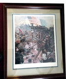 STRIKE FOR GOD AND COUNTRY Limited Edition Civil War Print by Don Stivers - Framed