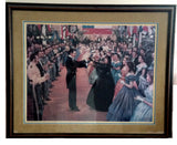 CONFEDERATE BALL  Limited Edition Print by William  Maughan - Framed