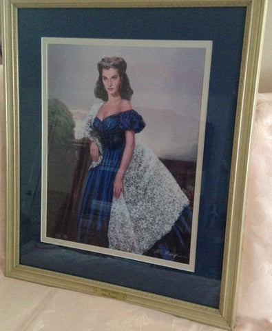 PORTRAIT OF SCARLET Limited Edition Print by William Maughan - Framed