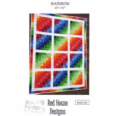 Rainbow - Quilting Pattern - Red House Designs - Craft de Ville