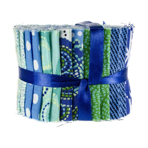 Carnivale Blue - Fabric Roll