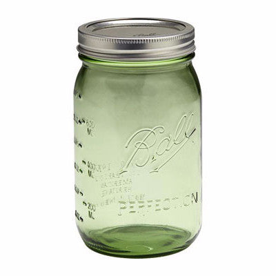 Mason Jar - 32 ounce - Perfection Spring Green - Ball - Craft de Ville