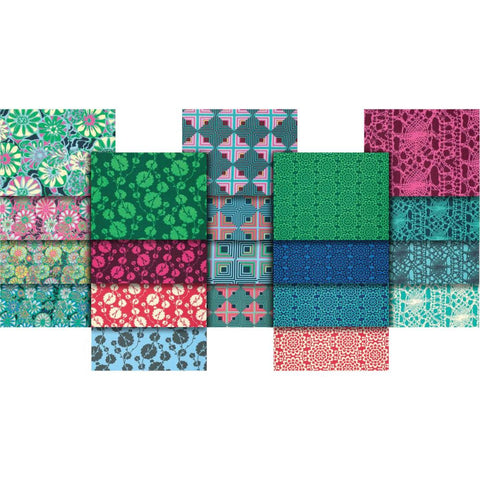 True Colors - Amy Butler - Fat Quarter Pack - Fabric - Free Spirit - Craft de Ville