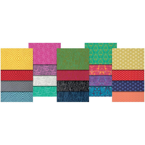 True Colors - Tula Pink - Fat Quarter Pack - Fabric - Free Spirit - Craft de Ville