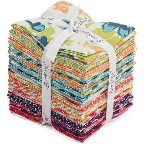 Flora - Joel Dewberry - Fat Quarter Pack - Fabric - Free Spirit - Craft de Ville