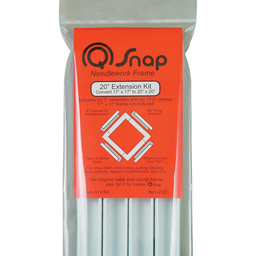 "Q-Snap Extension Kit - 20"" clamps - Embroidery - Q-Snap - Craft de Ville"