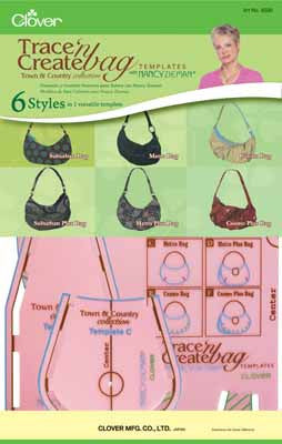 Trace 'n Create Bag Templates - Town & Country Collection - Sewing - Clover - Craft de Ville