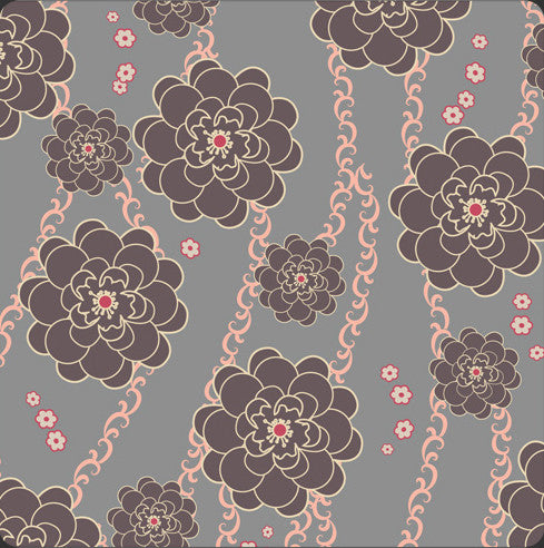 Art Gallery Fabrics - Rock 'n Romance - Ashen Rose Smoke - Art Gallery - Craft de Ville