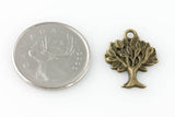 Tree Charm - Vintage Bronze - Beads & Findings - Craft De Ville - Craft de Ville