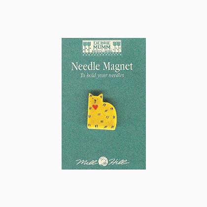 Needle Magnet - Debbie Mumm Cat - Mill Hill - Craft de Ville