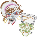 Sublime Stitching Embroidery Patterns - Zombies and Monsters - Embroidery - Sublime Stitching - Craft de Ville