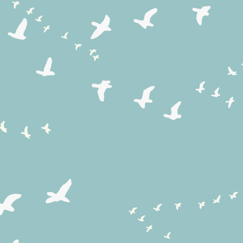 Birch Organic Fabric - Flight - Birch - Craft de Ville