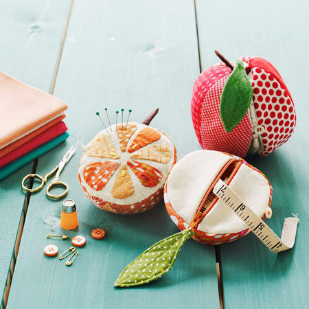 Apples to Oranges - Sewing Kit - Straight Stitch Society - Straight Stitch Society - Craft de Ville