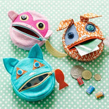 Feed the Animals - Coin Purses - Straight Stitch Society - Straight Stitch Society - Craft de Ville