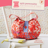 Split Personality - Reversible Bag  - Straight Stitch Society - Straight Stitch Society - Craft de Ville