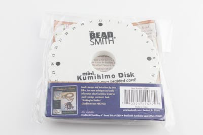Kumihimo Disk - 4.25in Round - Beads & Findings - BeadSmith - Craft de Ville