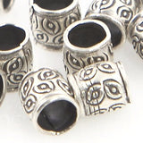 Thai Silver - Small Tube Bead - Beads & Findings - Perfectly Reasonable Tours - Craft de Ville