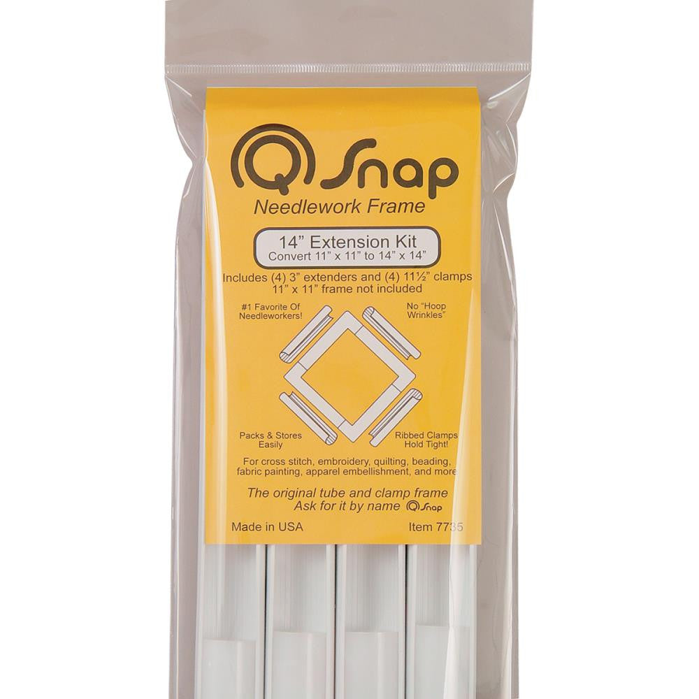 "Q-Snap Extension Kit - 14"" clamps - Embroidery - Q-Snap - Craft de Ville"