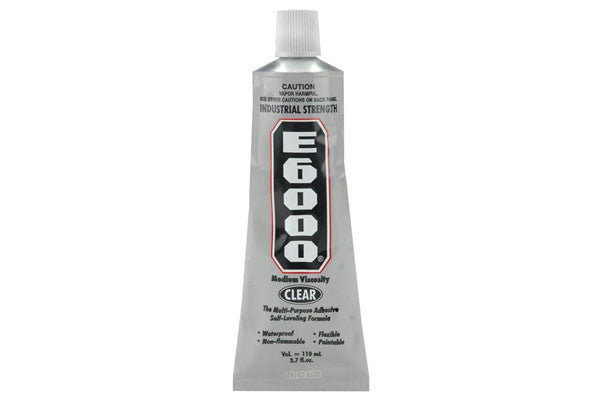 E6000 - 3.7 oz - Glue - Eclectic Products - Craft de Ville