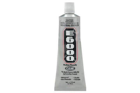 E6000 - 3.7 oz - Eclectic Products - Craft de Ville