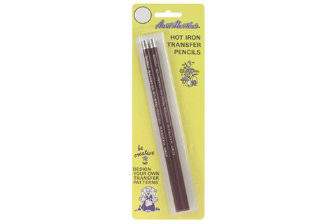 Transfer Pencils - Red - 2 pack - Notions - Colonial Patterns - Craft de Ville