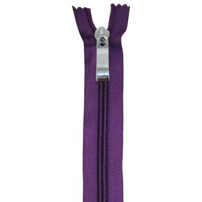 "Purse Zipper - Purple - 12"" - Zippers - Everything Mary - Craft de Ville"
