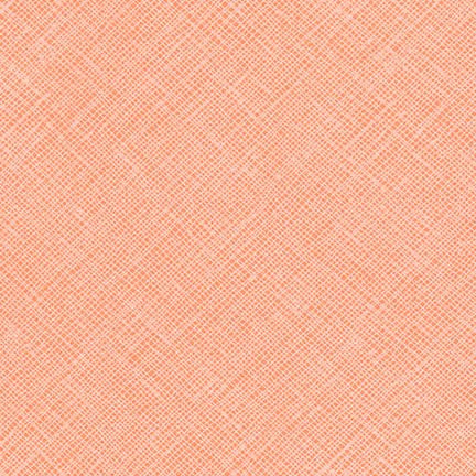 Carolyn Friedlander - Architextures Crosshatch - Creamsicle - Robert Kaufman - Craft de Ville