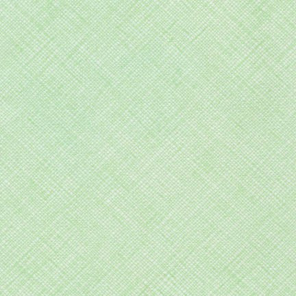 Carolyn Friedlander - Crosshatch - Mint - Fabric - Robert Kaufman - Craft de Ville